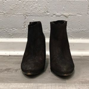 Free People, Booties, Brown, Size 9